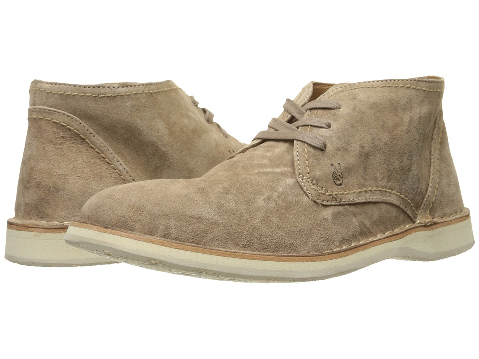 John Varvatos Hipster Chukka Sandstone Mens Lace up Boots