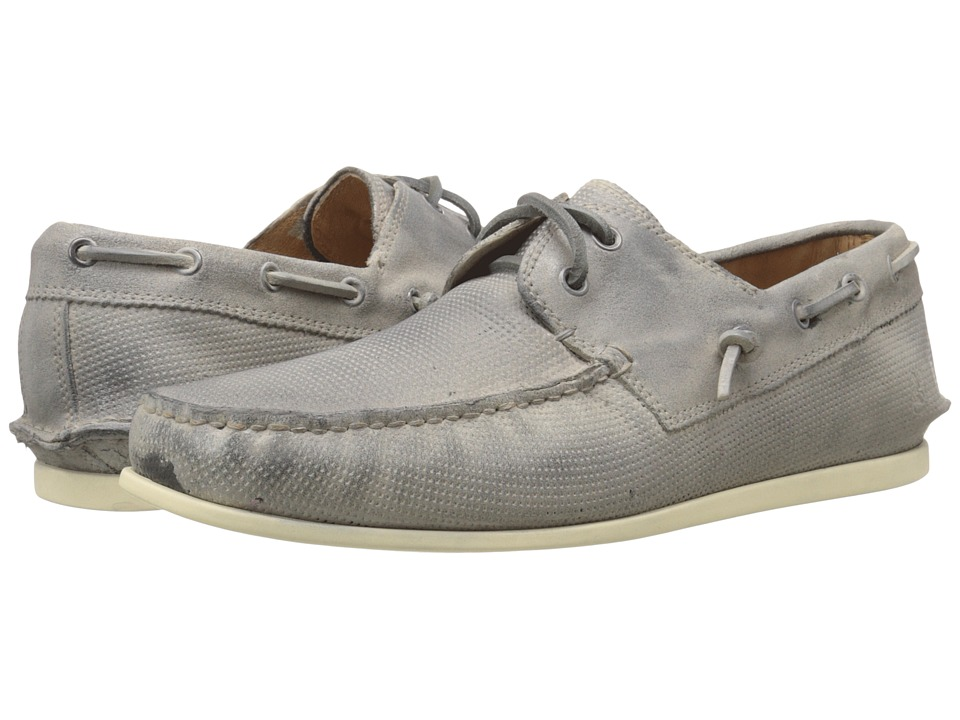 John Varvatos Schooner Boat Ash Mens Slip on Shoes