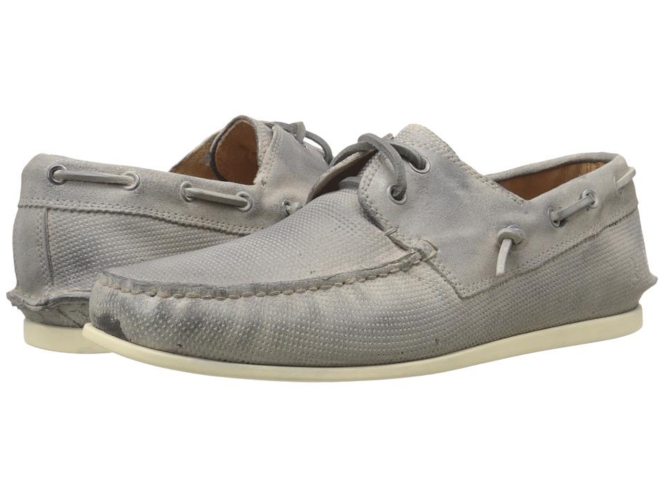 John Varvatos Schooner Boat Ash Mens Slip on Shoes