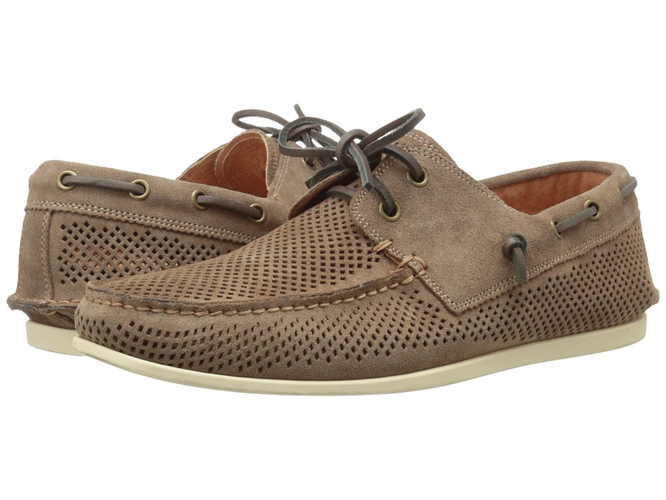 John Varvatos Schooner Boat Clay Mens Slip on Shoes