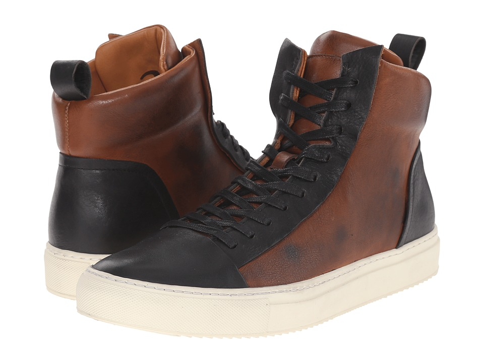 John Varvatos 315 Reed Hi Top Walnut Mens Lace up casual Shoes