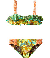Maaji Kids - Safari Tunnels Ruffle Bikini Set (Toddler/Little Kids/Big Kids)