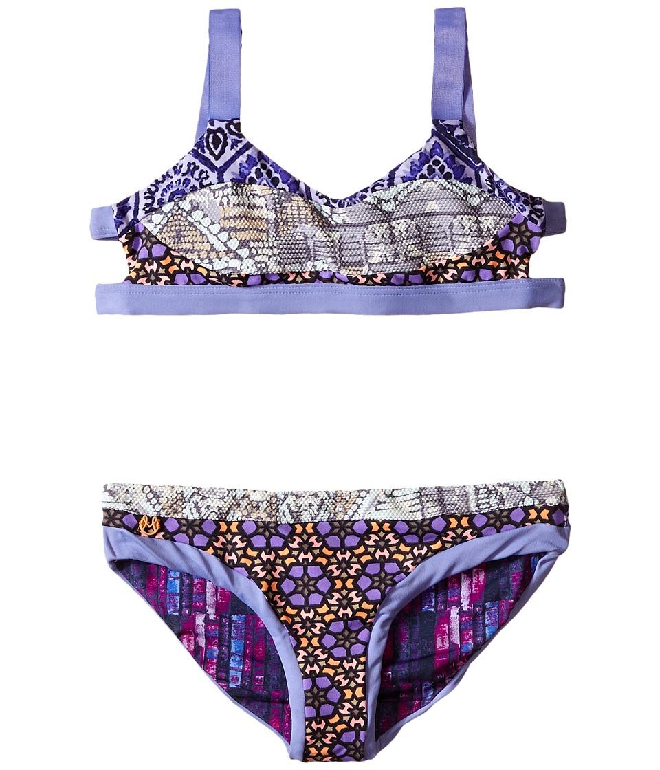Maaji Kids License Plates Bikini Set Toddler/Little Kids/Big Kids Multicolor Girls Swimwear Sets