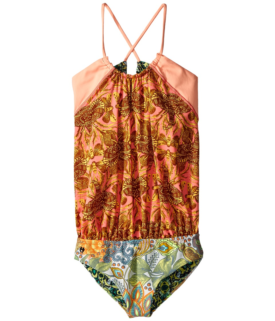 Maaji Kids Back in Town One Piece Toddler/Little Kids/Big Kids Multicolor Girls Swimsuits One Piece