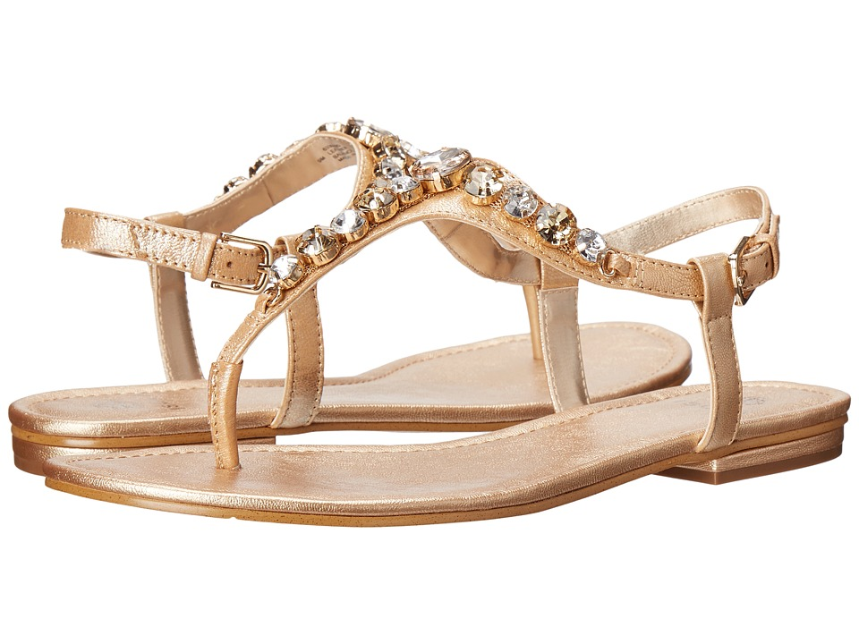 Isola Monica Gold Womens Dress Sandals