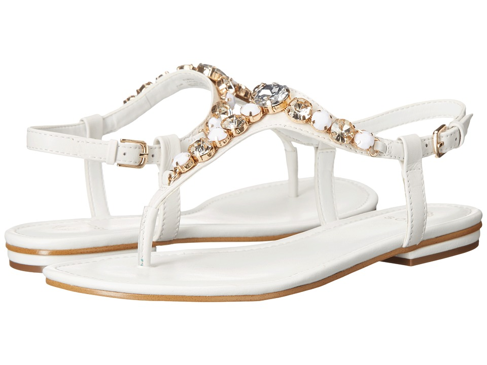 Isola Monica White Womens Dress Sandals