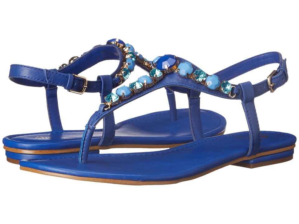Isola Monica Electric Blue Womens Dress Sandals
