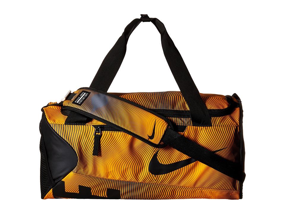 Nike - New Duffel Graphic Small (Laser Orange/Black/Black) Duffel Bags