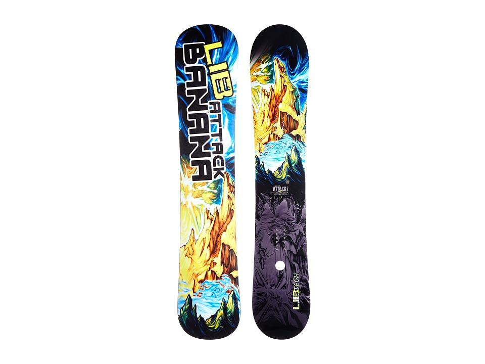 Lib Tech Attack Banana 159W EC2 2015 Multi Snowboards Sports Equipment