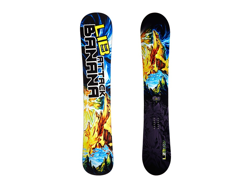 Lib Tech Attack Banana 159 EC2 2015 Multi Snowboards Sports Equipment