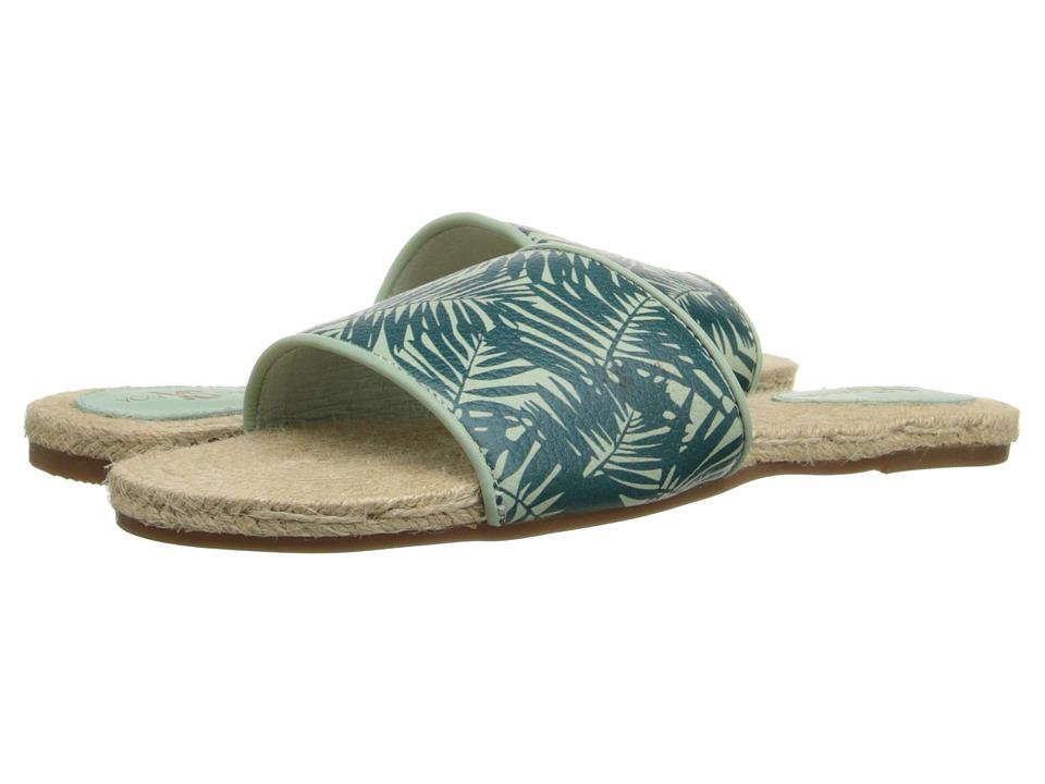 Yosi Samra Reese Sage/Pine Womens Flat Shoes