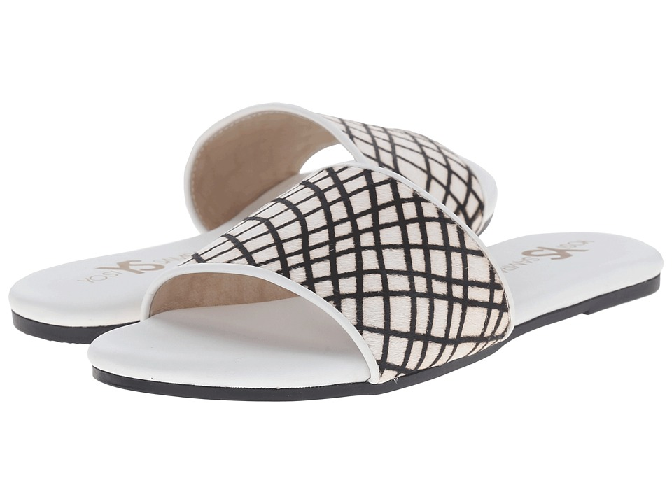 Yosi Samra Reese White Womens Flat Shoes