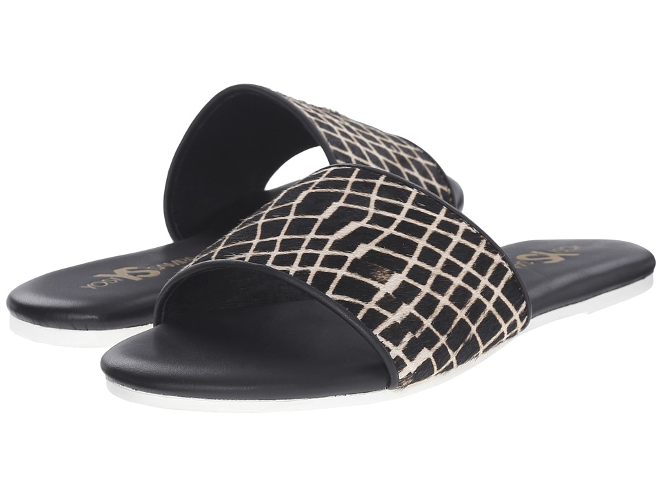 Yosi Samra Reese Black Womens Flat Shoes