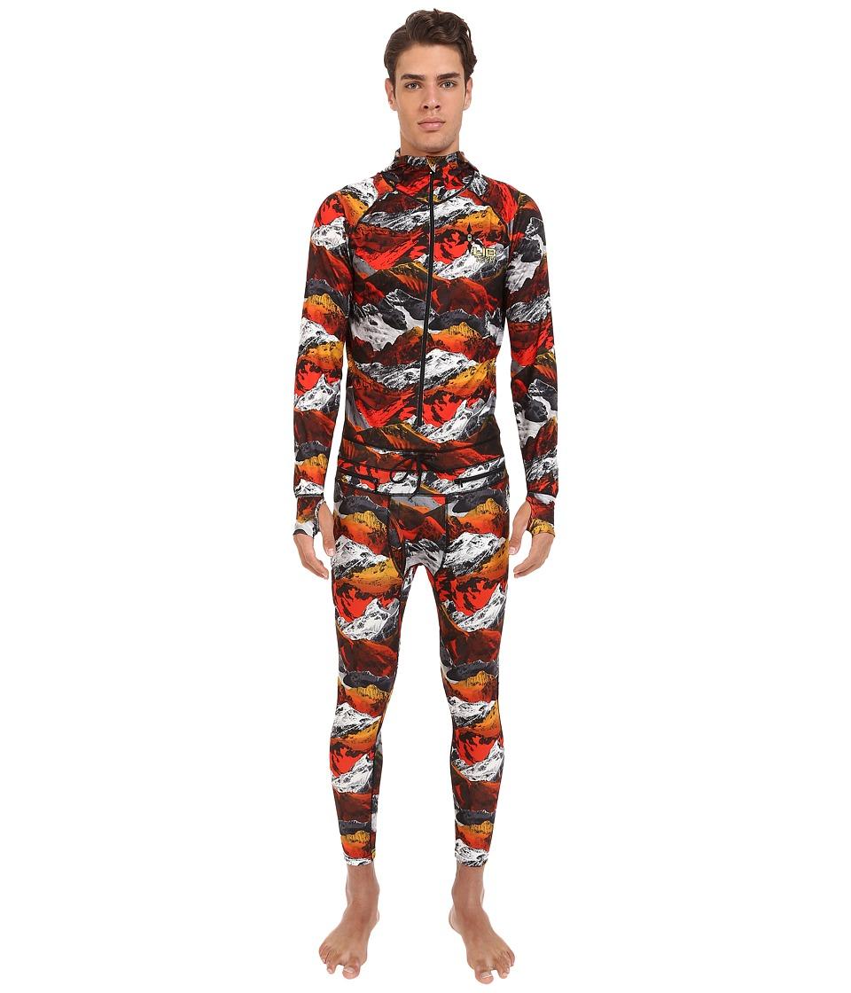Lib Tech Blaster Ninja Suit Zimmo Print Mens Snow Bibs One Piece