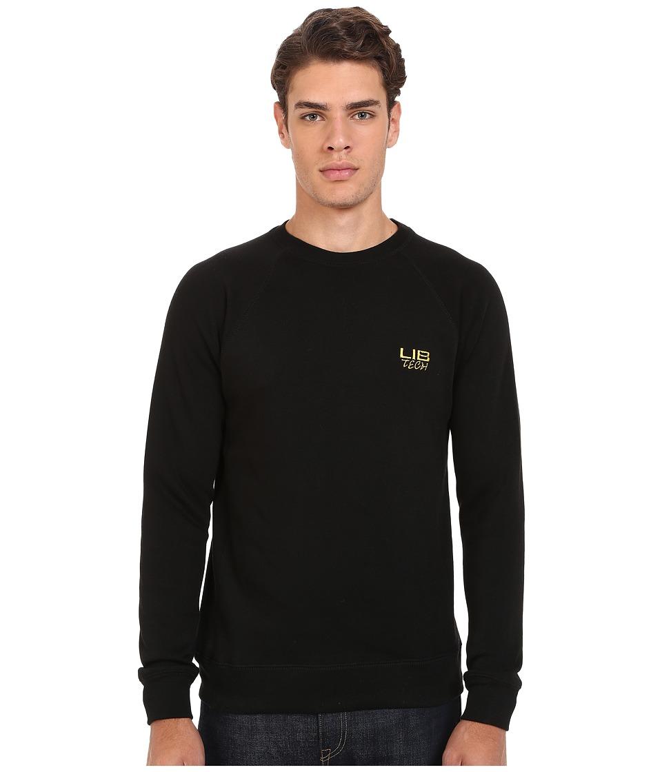 Lib Tech Bellinghammer Crew Sweater Charcoal Mens Sweatshirt