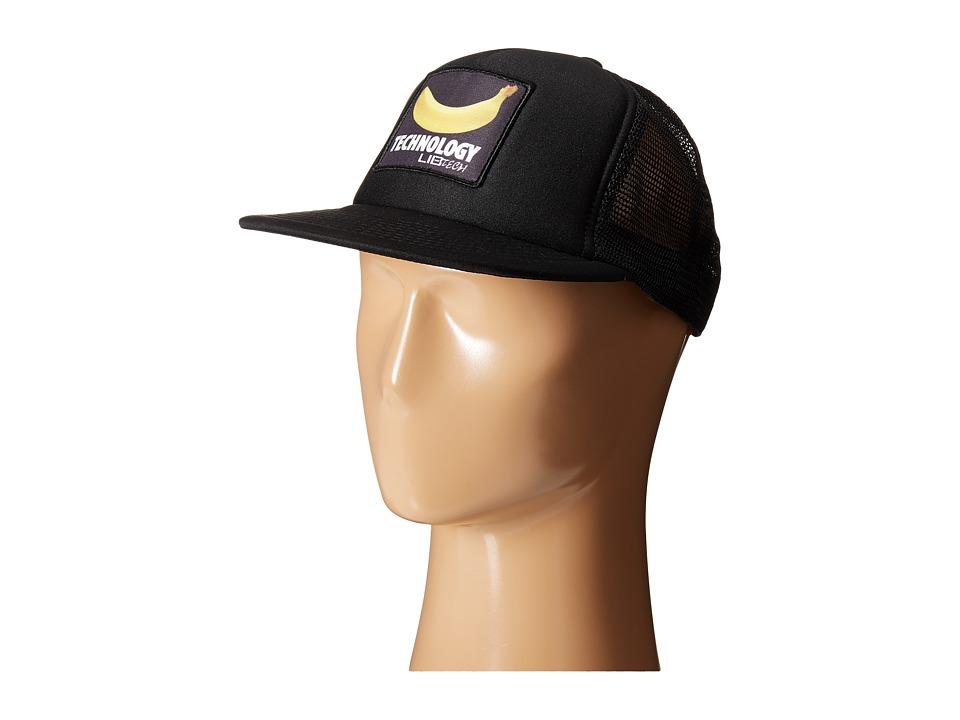 Lib Tech Banana Trucker Hat Black Caps