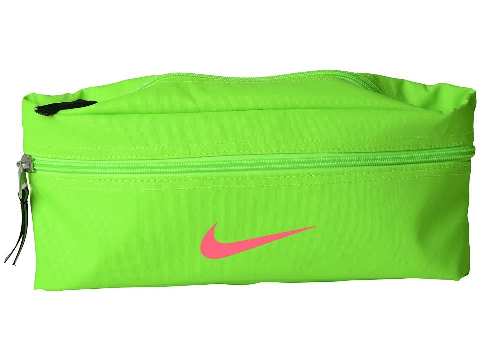 Nike - Team Training Waist Pack (Electric Green/Black/Hyper Pink) Bags