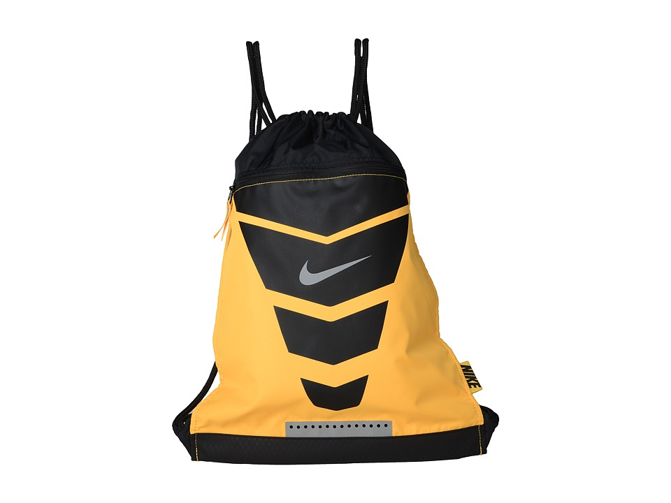 Nike - Vapor Gymsack (Laser Orange/Black/Metallic Silver) Backpack Bags