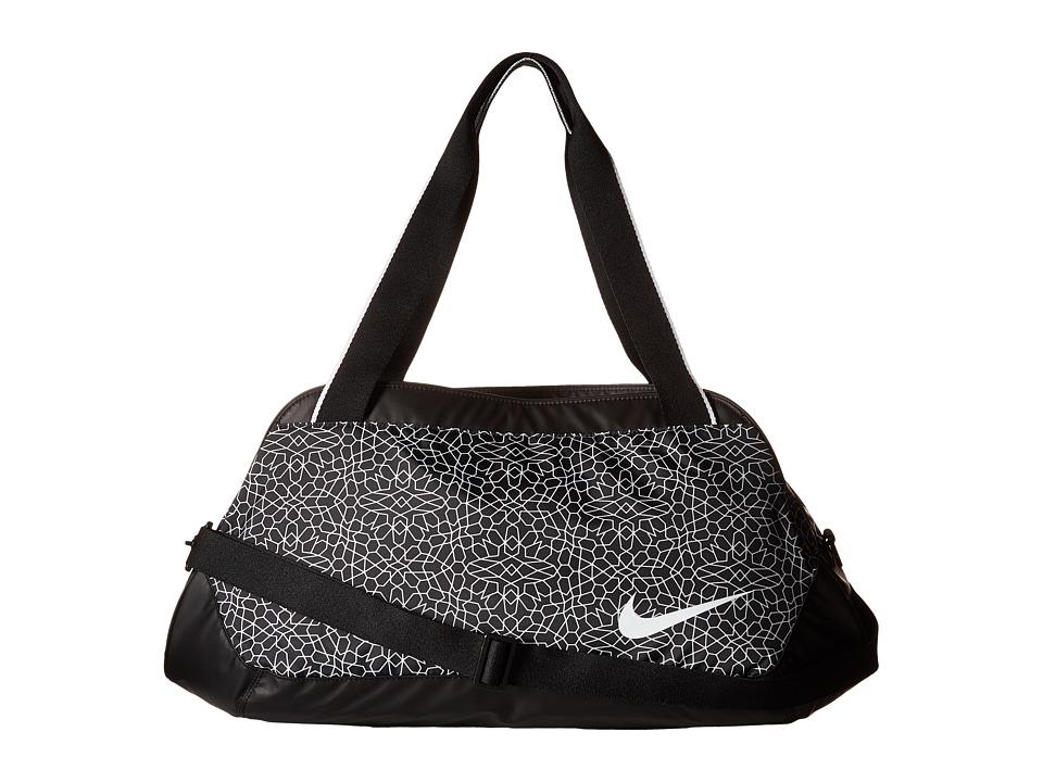Nike - Legend Club Print (Black/Black/White 1) Duffel Bags