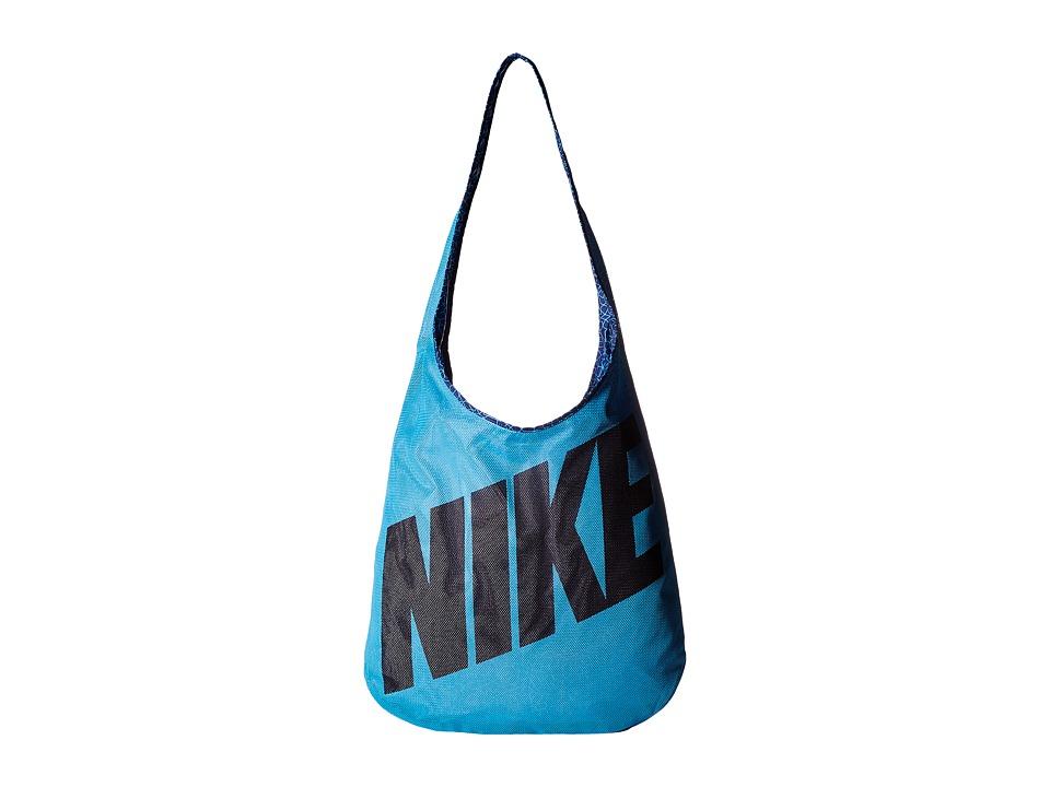 Nike - Graphic Reversible Tote (Omega Blue/Deep Royal/Black) Tote Handbags