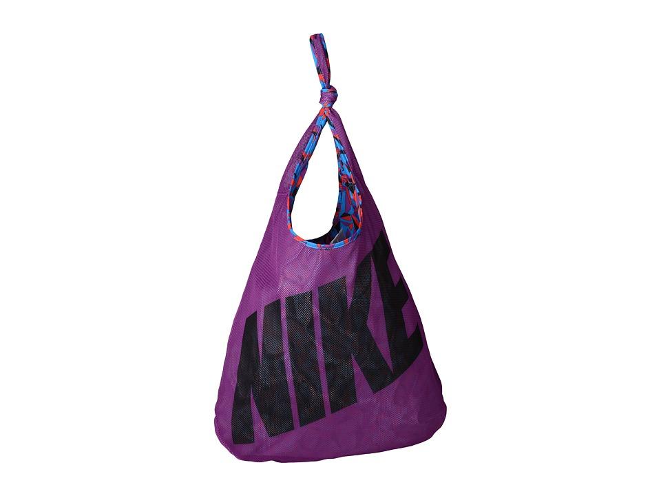 Nike - Graphic Reversible Tote (Cosmic Purple/Light Photo Blue/Black) Tote Handbags