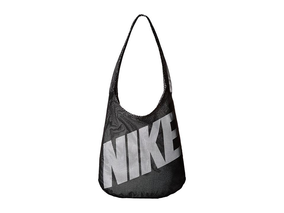 Nike - Graphic Reversible Tote (Black/Black/White 3) Tote Handbags