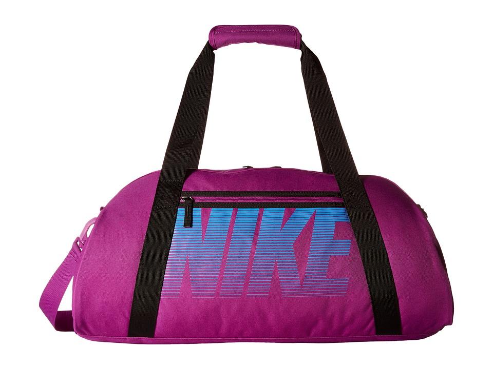 Nike - Gym Club (Cosmic Purple/Black/Light Photo Blue) Duffel Bags