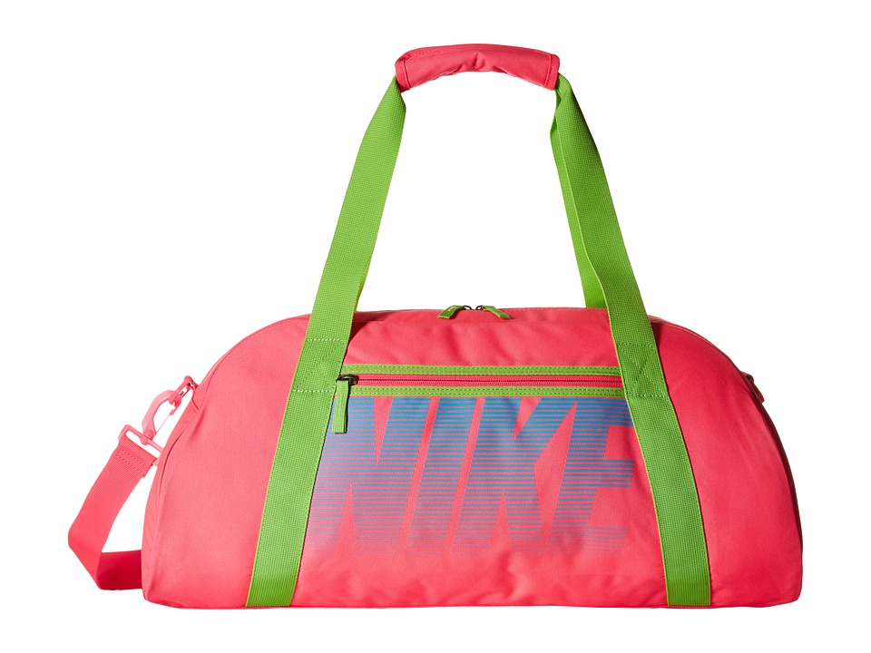 Nike - Gym Club (Hyper Pink/Action Green/Omega Blue) Duffel Bags
