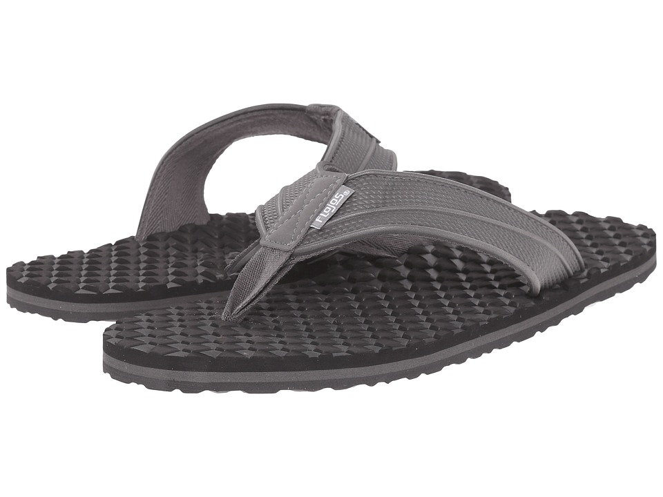 Flojos Badlands Charcoal Mens Sandals