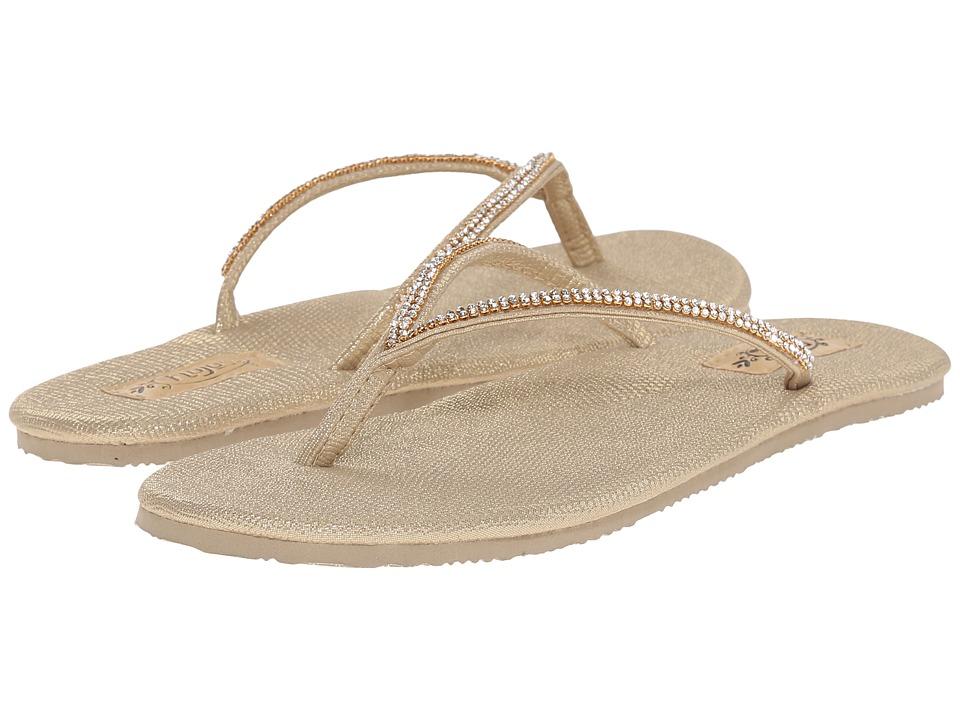 Flojos Patti Gold Womens Sandals