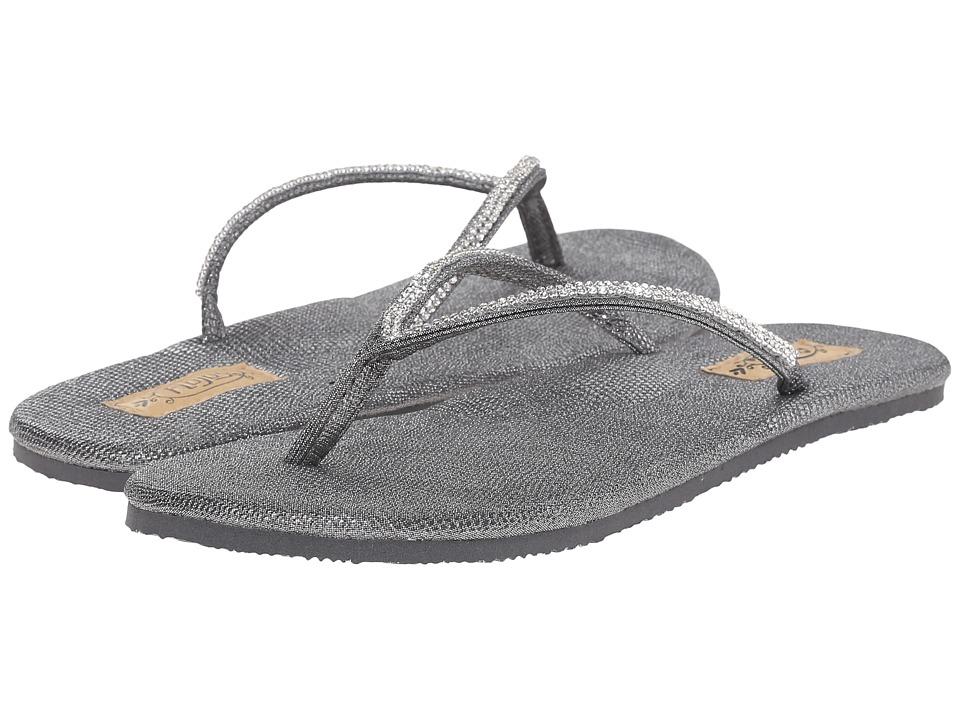 Flojos Patti Pewter Womens Sandals