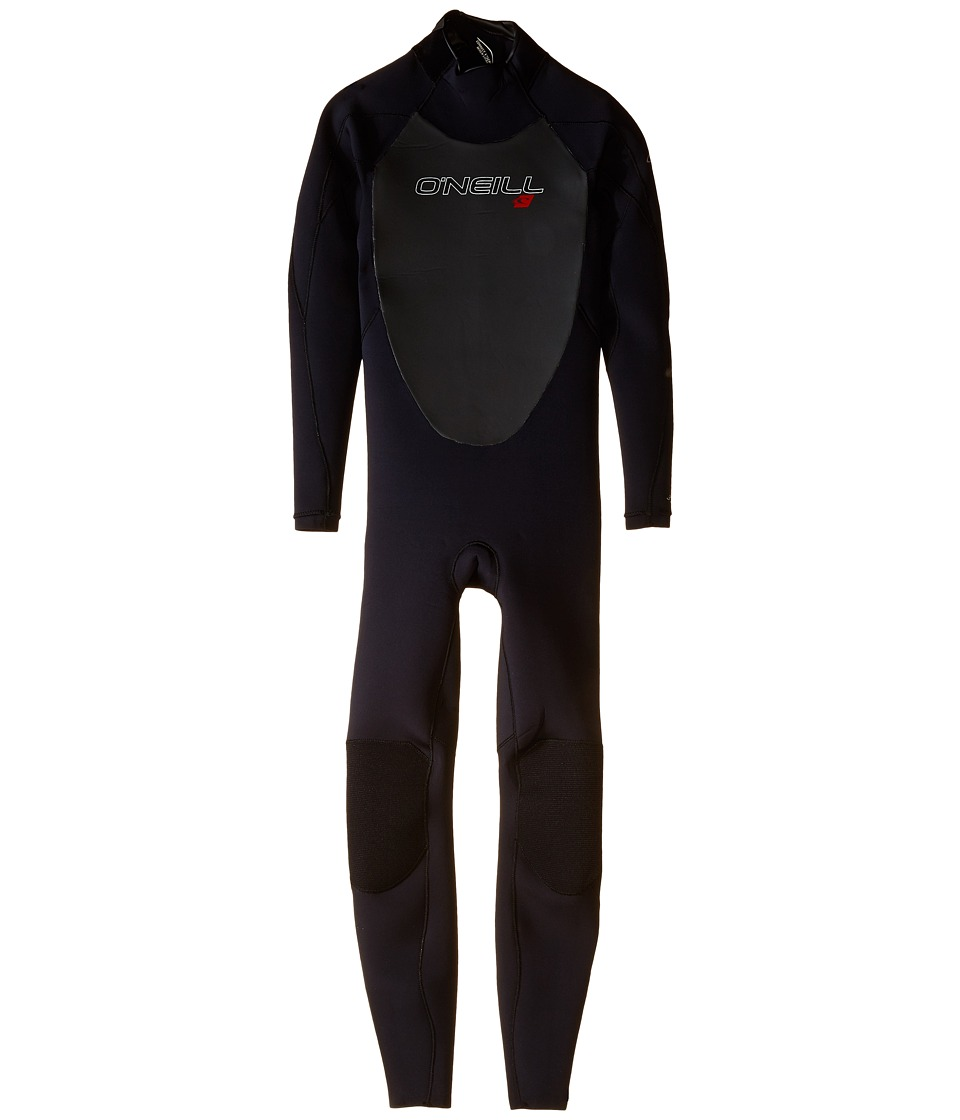 ONeill Kids - Youth Epic 3/2 (Little Kids/Big Kids) (Black/Black/Black) Boys Wetsuits One Piece