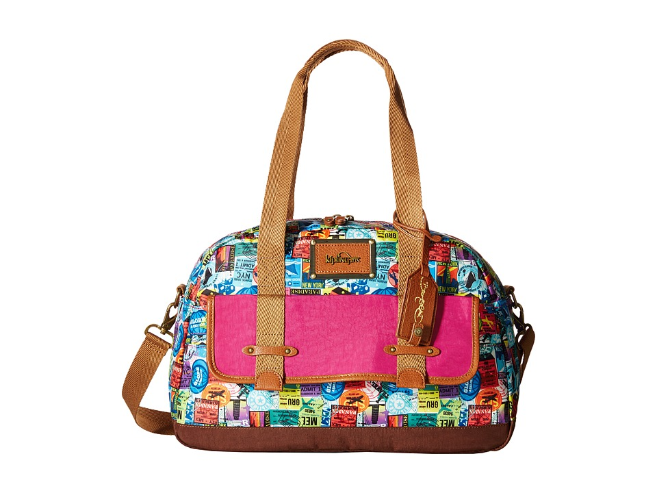 Kipling - City Hopper Soft Luggage by David Bromstad (Hello Adventure) Duffel Bags