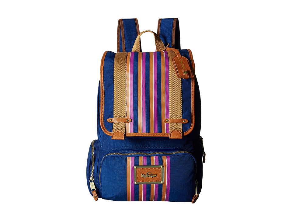 Kipling - Globe Trekker Backpack by David Bromstad (Abit Vintage) Backpack Bags