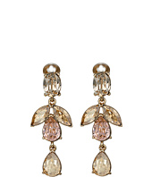 Oscar de la Renta - Bold Teardrop Short Drop C Earrings