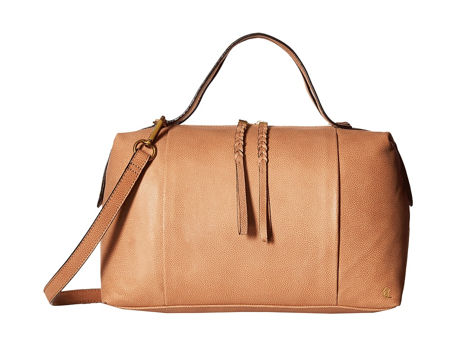 Elliott Lucca Albertine Satchel Almond Satchel Handbags