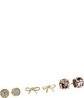 Kate Spade New York - Glitter 3 Piece Stud Set Earrings