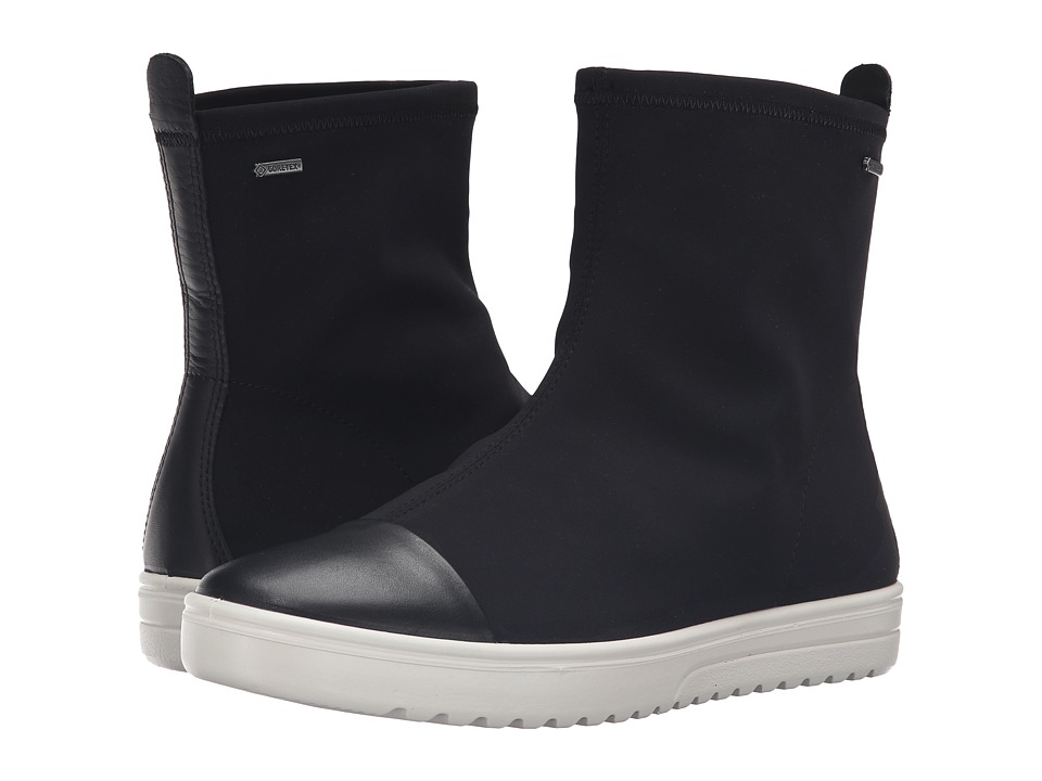 ECCO - Fara Mid Boot GTX (Black/Black) Women