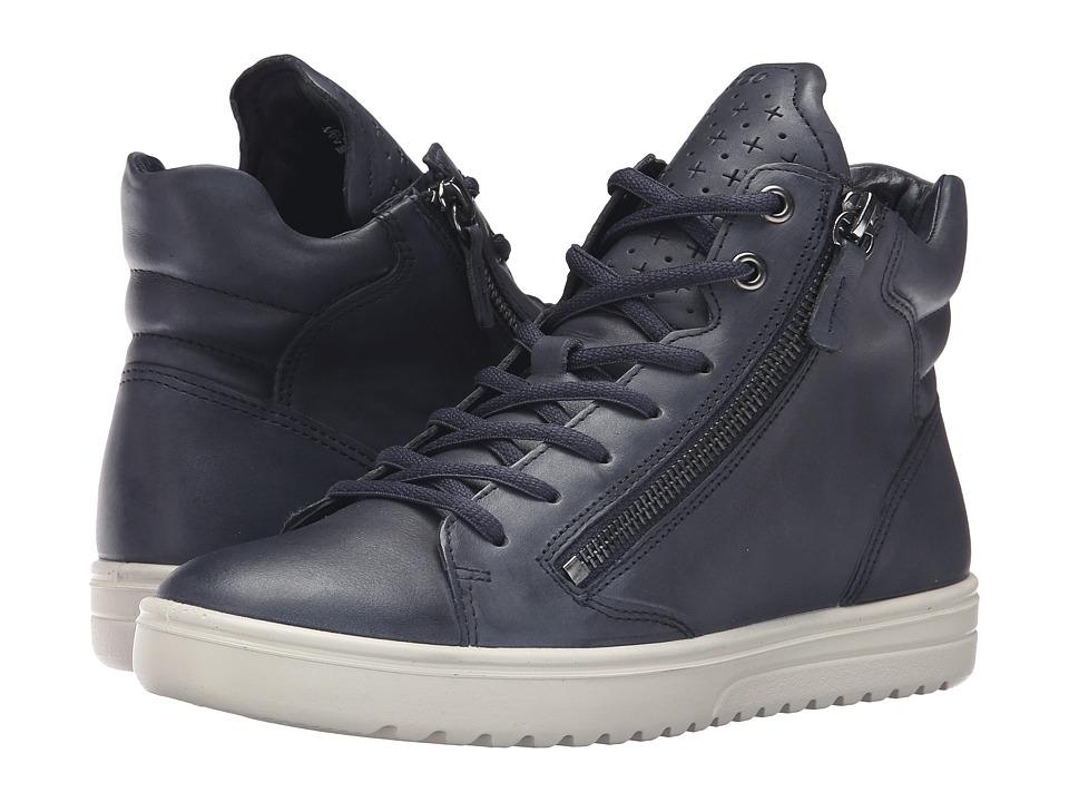 ECCO - Fara Sneaker (Marine) Women