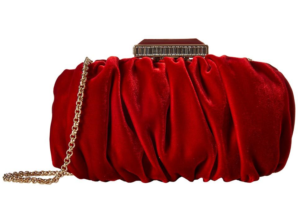 Oscar de la Renta - Goa (Ruby Velvet) Handbags