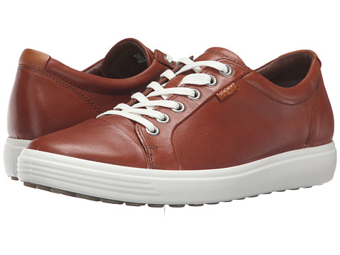 ECCO Soft VII Sneaker - Mahogany