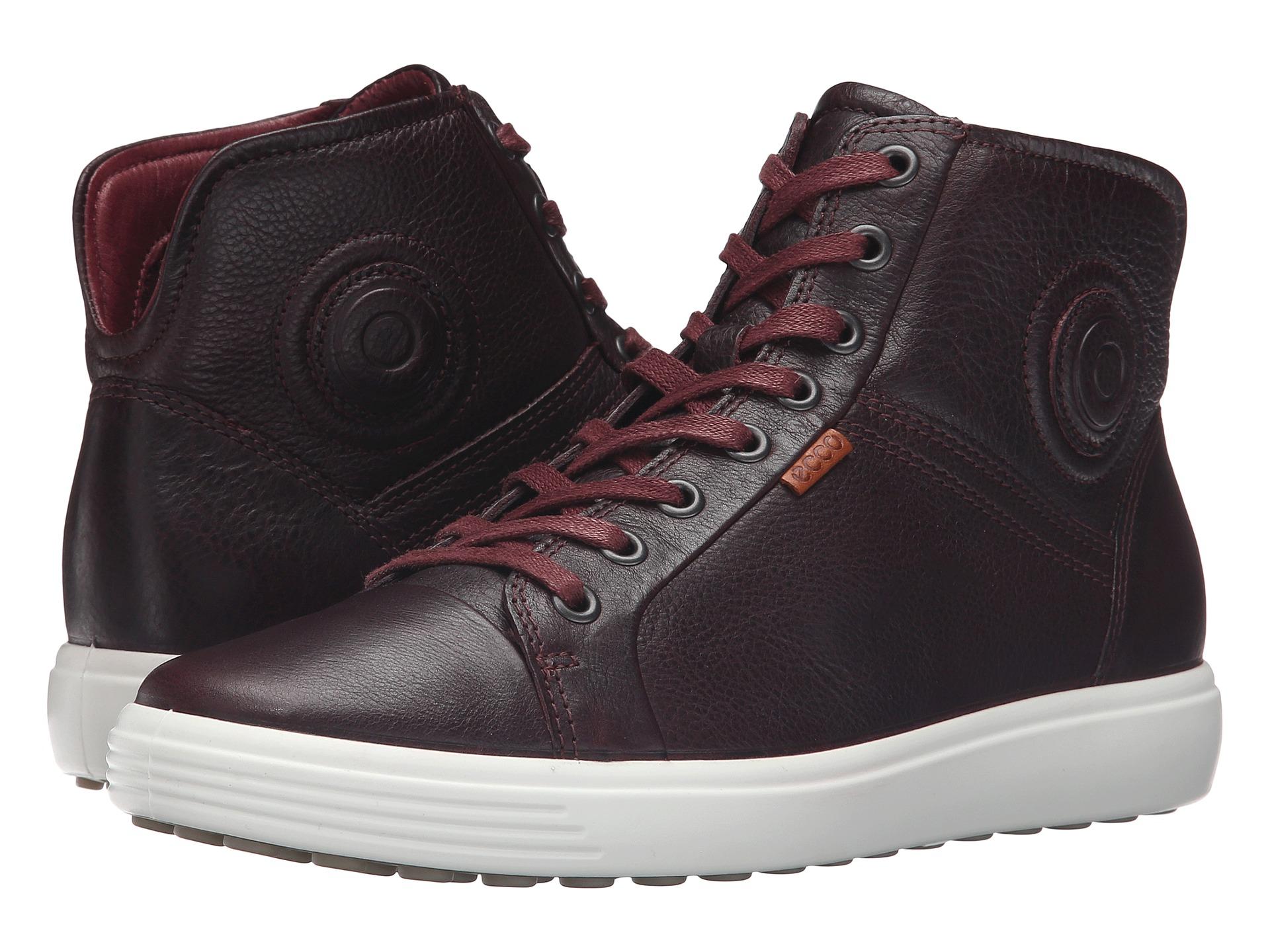 Ecco Soft Vii High Top Shoes