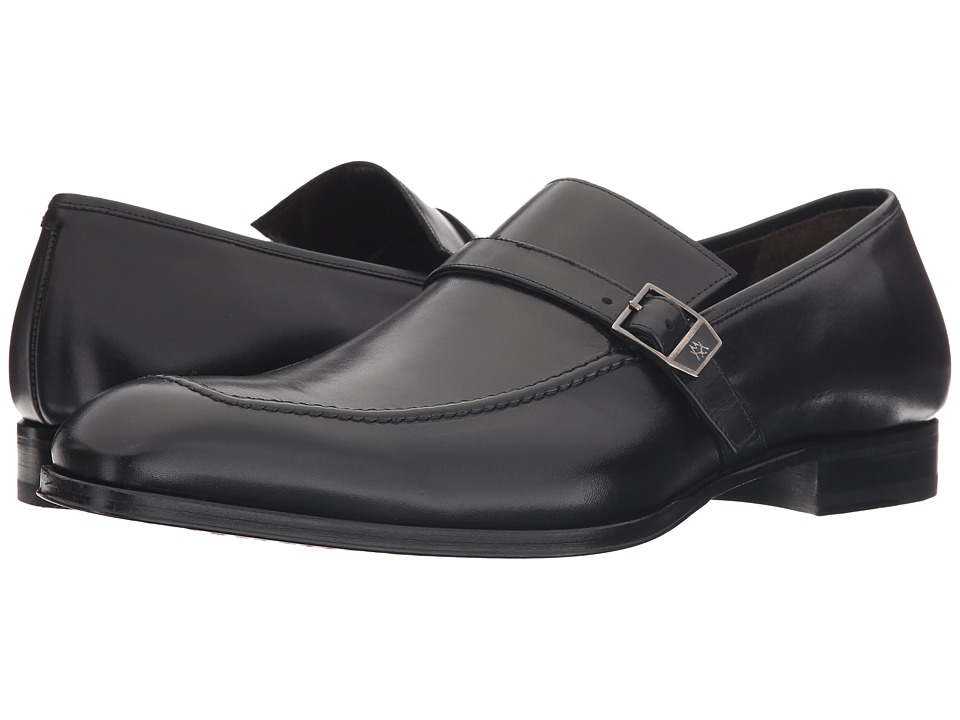 Mezlan - 16030 (Black) Mens Slip-on Dress Shoes