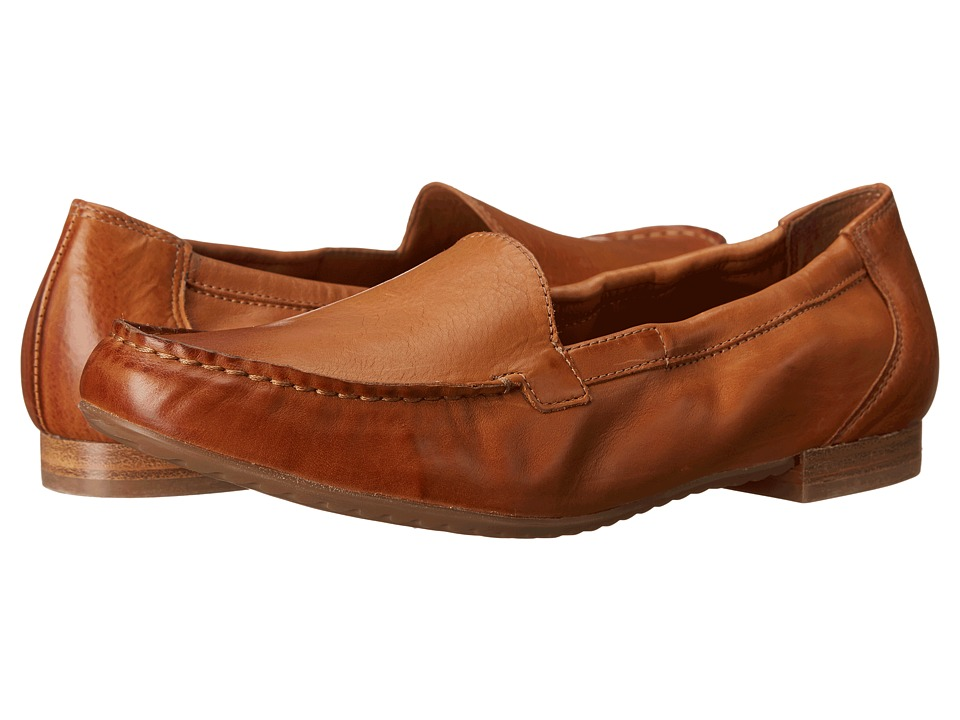 Paul Green Camm Cuoio Leather Womens Slip on Shoes