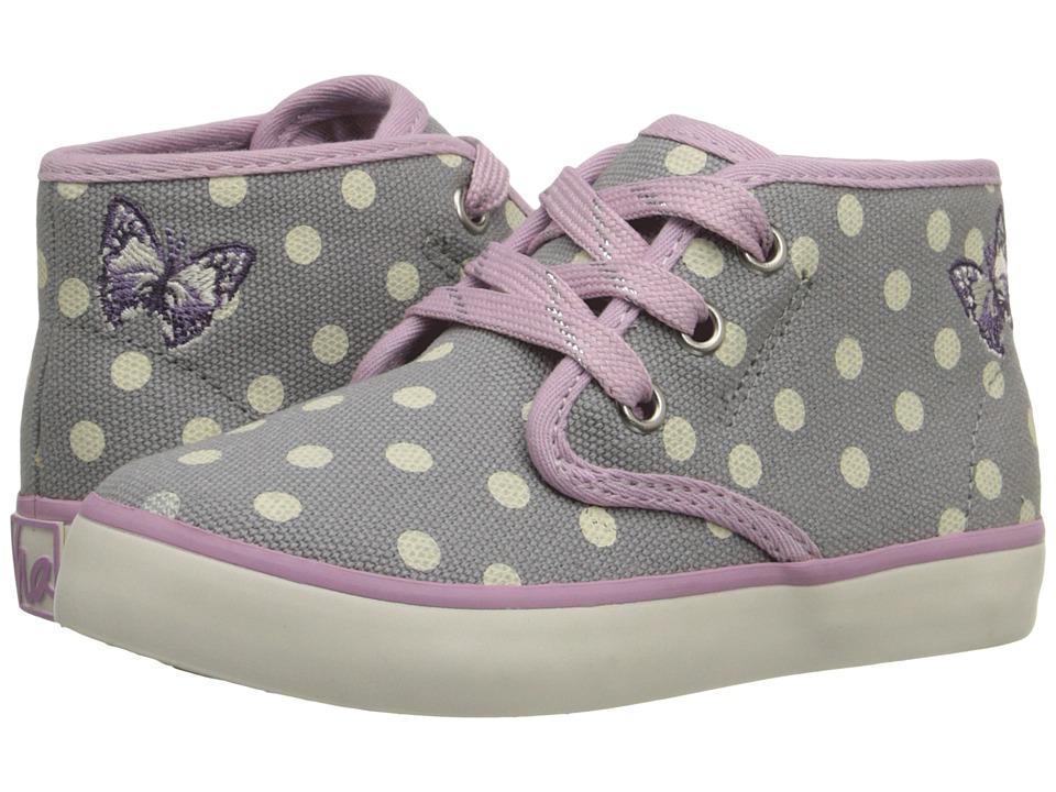 Hanna Andersson Nils 3 Toddler/Little Kid/Big Kid Mast Grey Girls Shoes