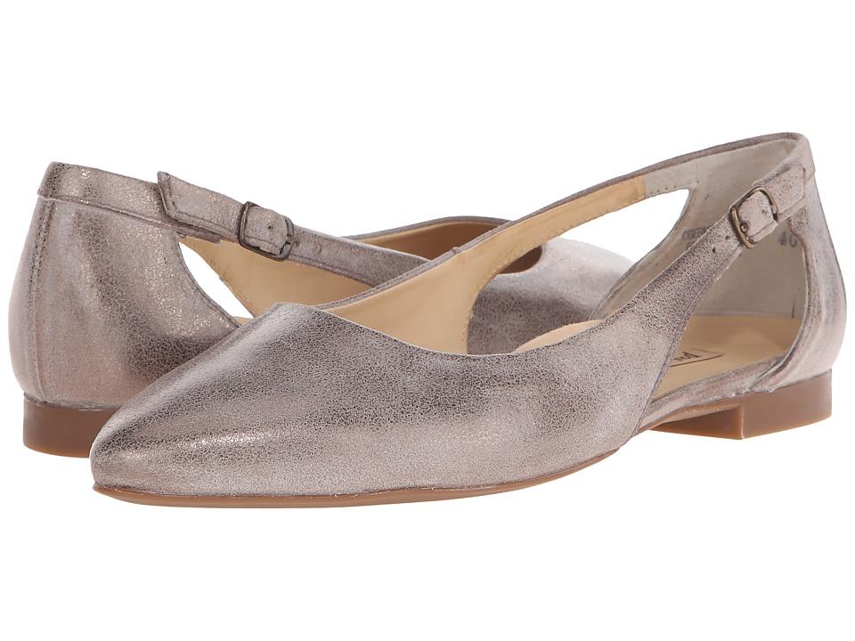 Paul Green Beckett Brush Metallic Smoke Womens Flat Shoes