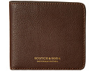 Scotch & Soda Leather Wallet (Brown)