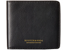 Scotch & Soda Leather Wallet (Black)