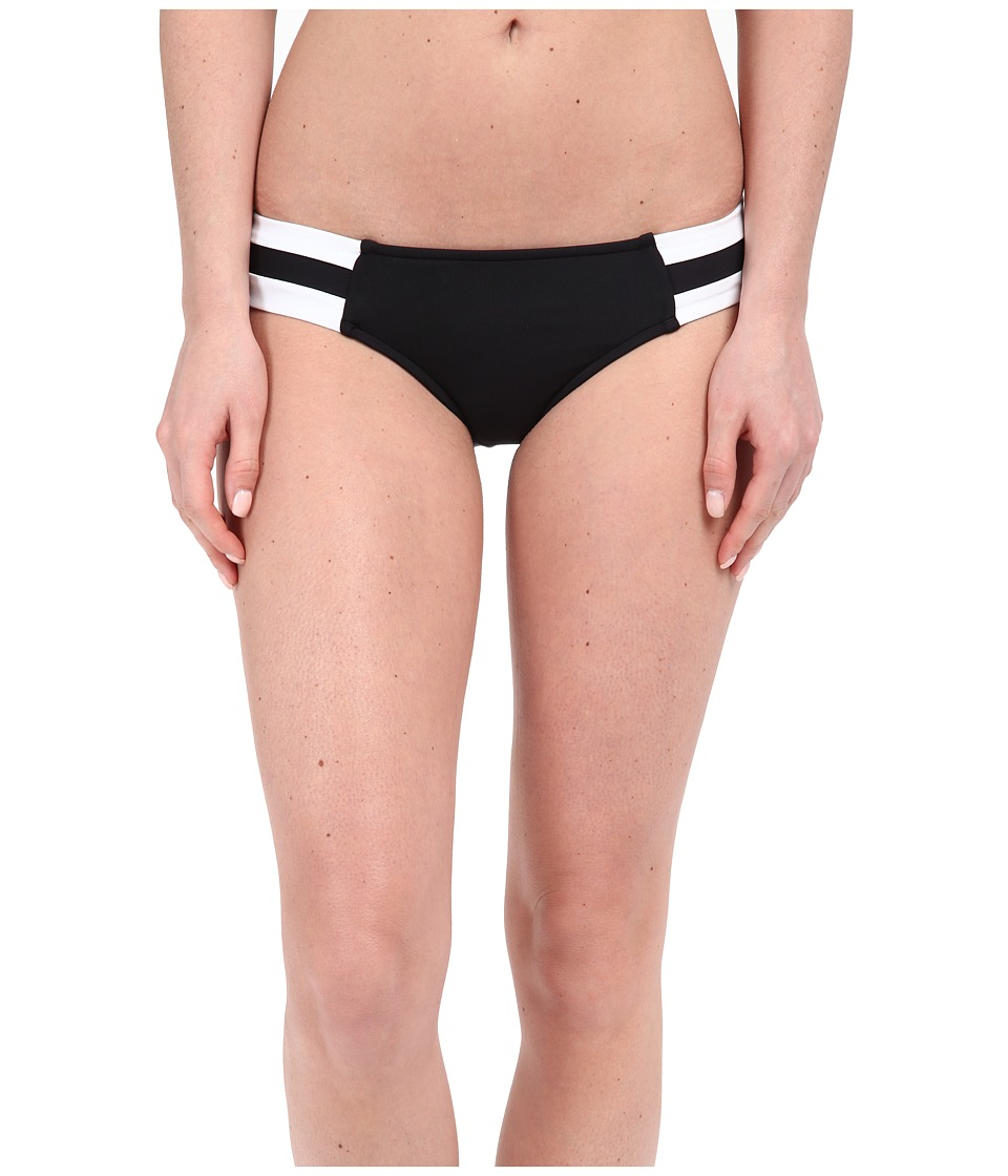 Seafolly Block Party Spliced Hipster Bottoms (Black) Women