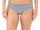 Riviera Coast Stripe Banded Hipster Bottoms